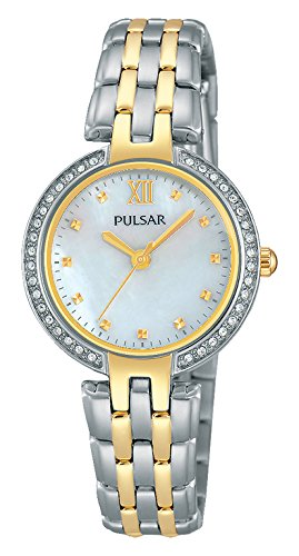 Pulsar Analog Quarz Edelstahl beschichtet PH8166X1