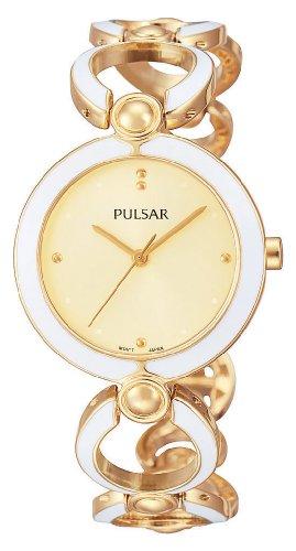Pulsar Uhren Damen Armbanduhr XS Modern Analog Quarz Alloy PH8028X1