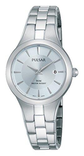 Pulsar Damen Armbanduhr Analog Quarz Edelstahl PH7415X1