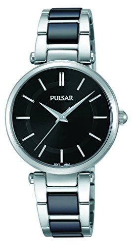 Pulsar Damen Armbanduhr Analog Quarz Edelstahl PH8193X1