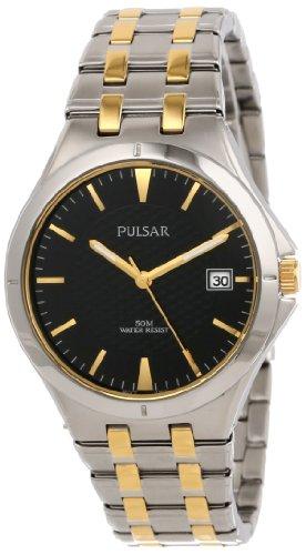 Pulsar Analog Quarz Edelstahl PXH909