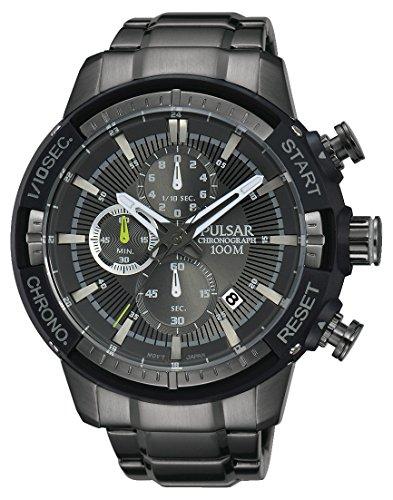 Pulsar Herren Armbanduhr Chronograph Quarz Edelstahl PM3049X1