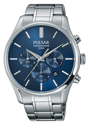 Pulsar Chronograph Quarz Edelstahl PT3777X1