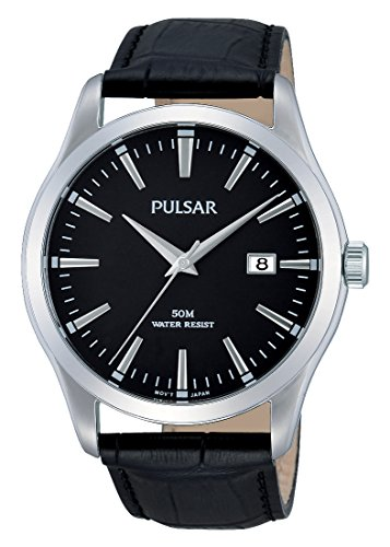 Pulsar XL Classic Analog Quarz Leder PS9303X1