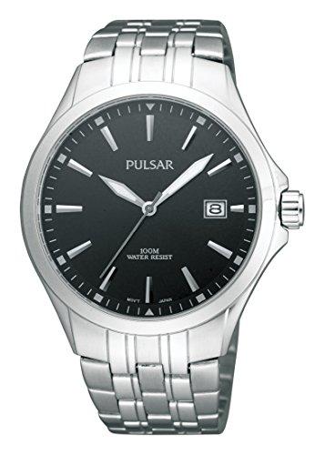 Pulsar Uhren Klassik Analog Quarz Edelstahl PS9089X1