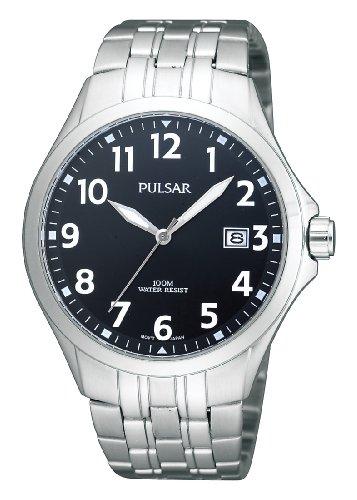 Pulsar Uhren Klassik Analog Quarz Edelstahl PS9093X1