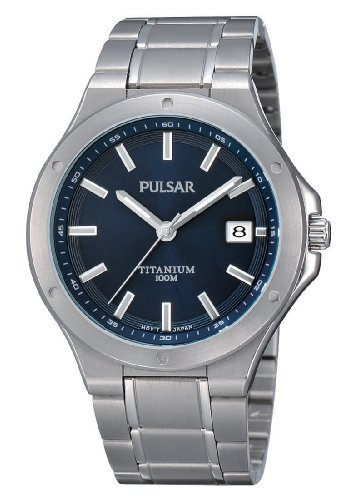 Pulsar Uhren XL Modern Analog Quarz Titan PS9123X1