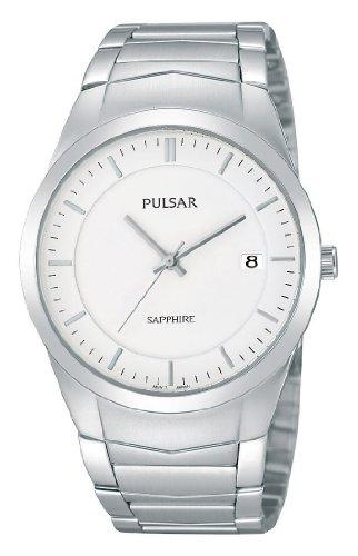 Pulsar Uhren XL Modern Analog Quarz Edelstahl PS9129X1