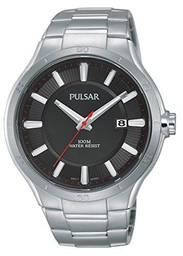 Pulsar Sport Analog Quarz Edelstahl PS9409X1