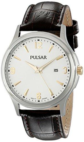 Pulsar Herren ph9073 Analog Display Analog Quarz Braun Armbanduhr