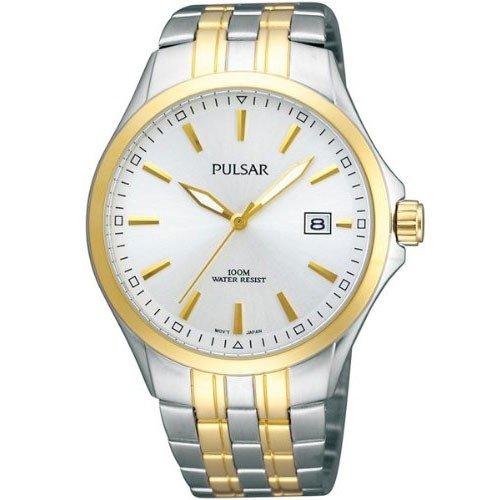 Pulsar Uhren Klassik Analog Quarz Edelstahl beschichtet PS9084X1