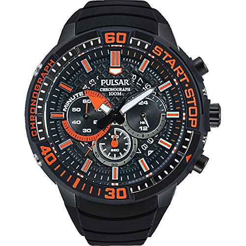 Pulsar Watches Mens X Chronograph Watch With Date Display