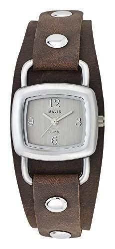 MAVIS Damen Armbanduhr Lederband Used Look 06102007