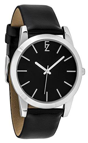 ferenzi Armband Schwarz und Gehaeuse Silber fz17501