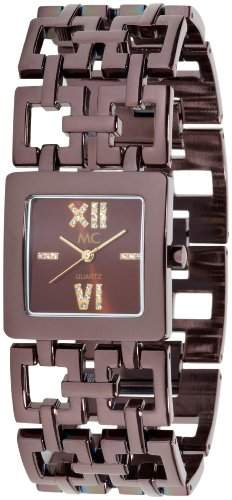 MC Timetrend Damen-Armbanduhr Analog Quarz Messing 10640