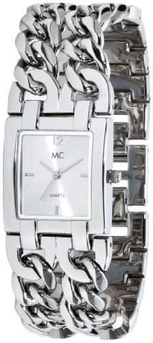 MC Timetrend Damen-Armbanduhr Analog Quarz Metallband 18574