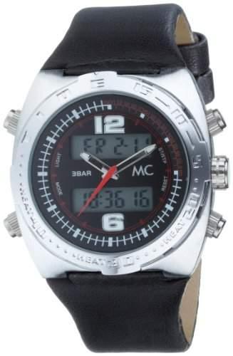 MC Herrenarmbanduhr Kunststoffband 26554