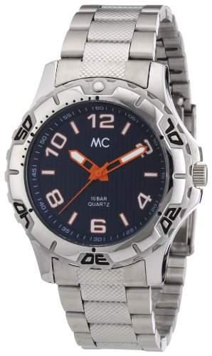 MC Timetrend Herren-Armbanduhr Analog Quarz Edelstahl 27081