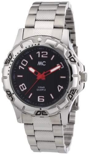 MC Timetrend Herren-Armbanduhr Analog Quarz Edelstahl 27082