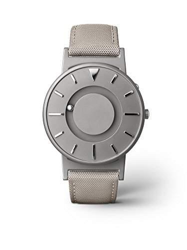 eone BRADLEY CLASSIC Unisex Uhr - Leder Stoff Armband beige
