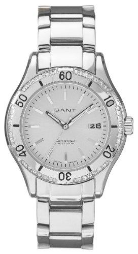 GANT Damen Armbanduhr Analog Quarz Edelstahl W10214