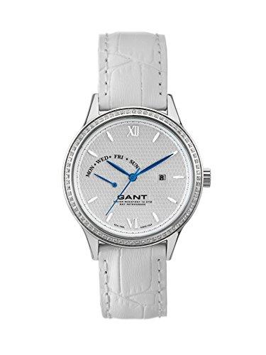 GANT Damen Armbanduhr Analog Quarz Leder W10765