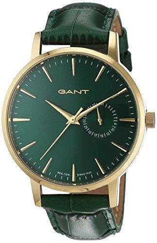 GANT TIME Damen Armbanduhr PARK HILL II MID Analog Quarz Leder W109221
