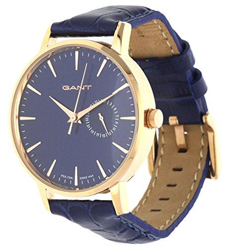 GANT TIME Damen Armbanduhr PARK HILL II MID Analog Quarz Leder W109220
