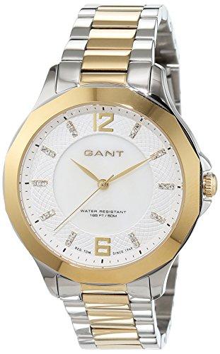 Gant PEARL RIVER Analog Quarz Edelstahl beschichtet W70713