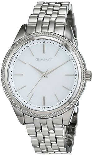 GANT TIME Damen Armbanduhr ROSELAND Analog Quarz Edelstahl W71502