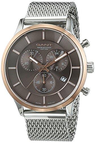 GANT TIME Herren Armbanduhr Analog Quarz Edelstahl GT002001