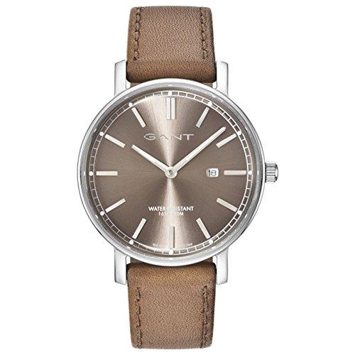 GANT TIME Herren Armbanduhr Analog Quarz Leder GT006004