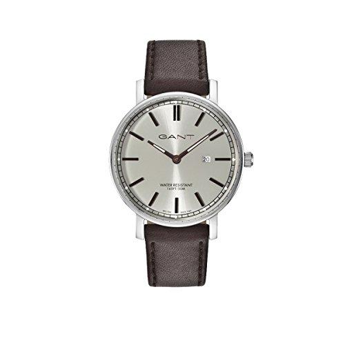 GANT TIME Herren Armbanduhr Analog Quarz Leder GT006005