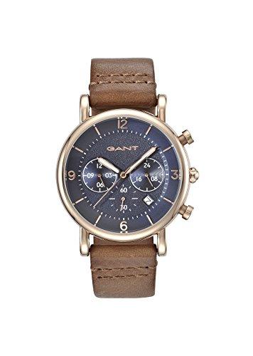 GANT TIME Herren Armbanduhr Analog Quarz Leder GT007003