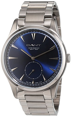 GANT TIME HUNTINGTON Analog Quarz Edelstahl W71008