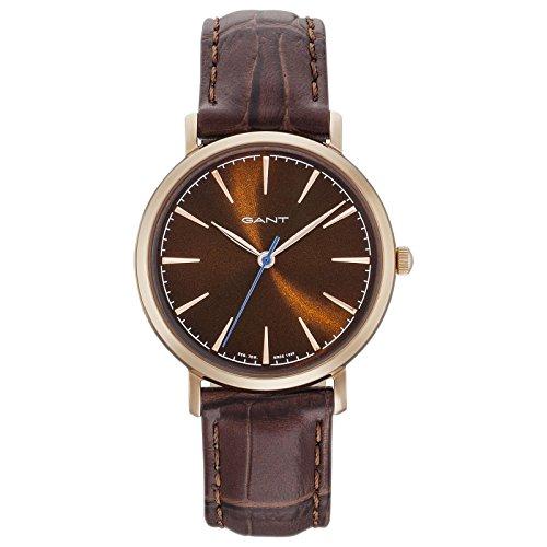Gant Stanford Damen Armbanduhr braun rosegoldfarben GT021007