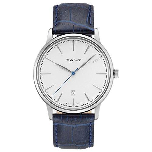 Gant Stanford Herren Armbanduhr blau silber weiss GT020001