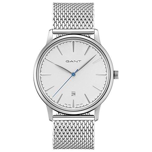 Gant Stanford Herren Armbanduhr silber weiss GT020004