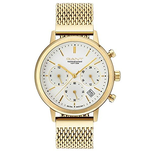 Gant Tilden Damen Armbanduhr goldfarben silber GT032003