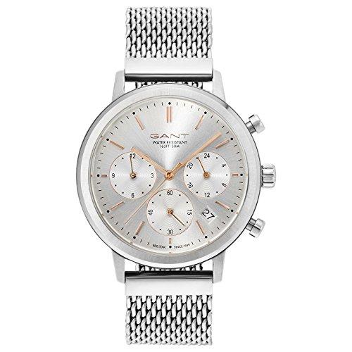 Gant Tilden Damen Armbanduhr silber weiss GT032001