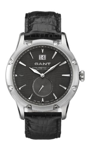 Gant Watches Herren Armbanduhr XL St James Analog Leder W70071