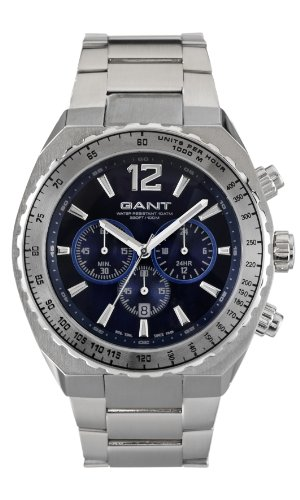 Gant Watches Herren Armbanduhr XL WINGHAM Analog Edelstahl W70143