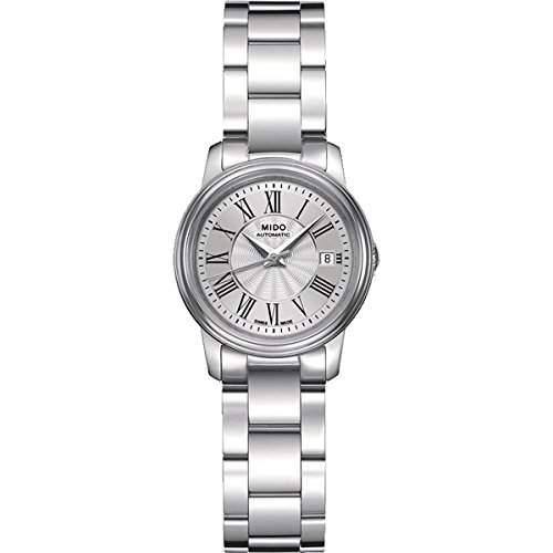 Mido Damen-Armbanduhr XS Baroncelli III Lady Analog Automatik Edelstahl M0102081103300
