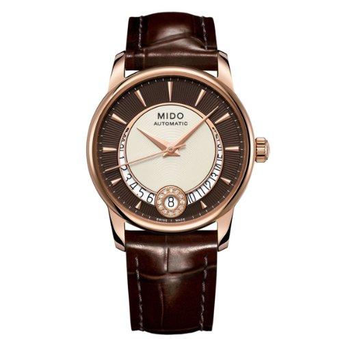 Mido XS Baroncelli Analog Automatik Leder M0072073629100