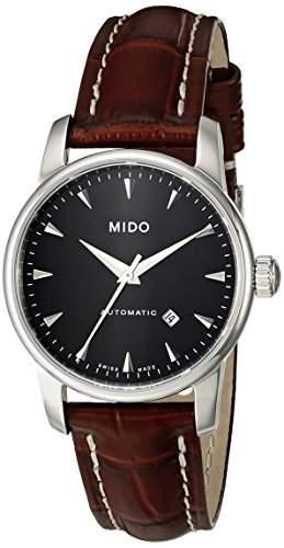 Mido Damen-Armbanduhr XS Baroncelli Analog Automatik Leder M76004188