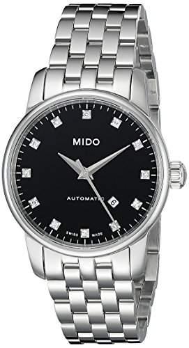 Mido Damen-Armbanduhr XS Baroncelli Analog Automatik Edelstahl M76004681