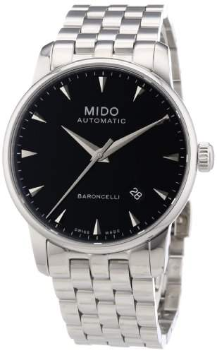 MIDO Herrenuhren-Automatikuhr Baroncelli Ii Herrenuhr Ø 38mm M86004181