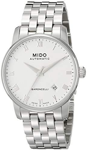 MIDO Herrenuhren-Automatikuhr Baroncelli Ii Herrenuhr Ø 38mm M86004261