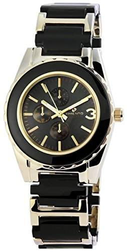 Timento Analog Damenuhr, Metall, Ø 39 mm, Gold Anthrazit - 510001000014
