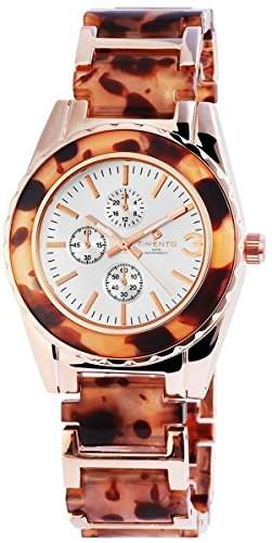 Timento Analog Damenuhr, Metall, Ø 39 mm, Roségold- 510032500014